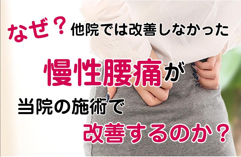 松江市の腰痛専門店