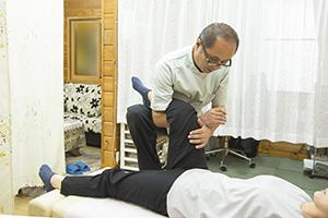股間節痛改善整体施術