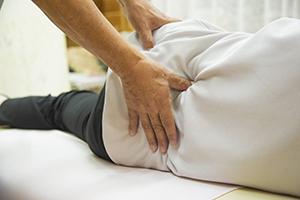 ぎっくり腰整体施術