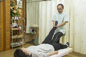 坐骨神経痛整体施術